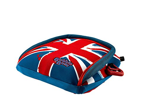 BubbleBum Inflatable Car Booster Seat, Group 2/3, Union Jack