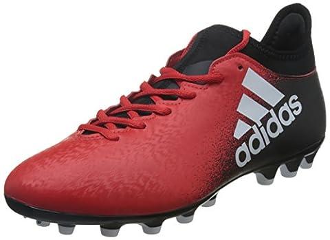 Adidas X AG, Chaussures de Football Homme, Multicolore (Red/Ftwr White/Core Black), 42 2/3 EU