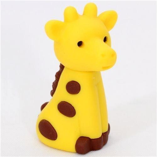 cute giraffe Japanese eraser from Iwako by Iwako Eraserz