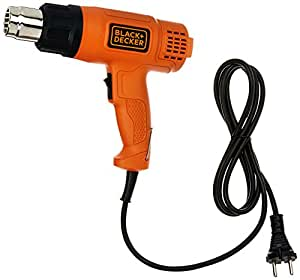 Black + Decker KX1800 1800-Watt Dual Temperature Heat Gun (Orange and Black)