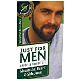 Just Para Hombre Barba Marrón Oscuro
