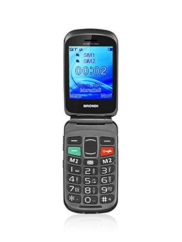 Brondi Amico Fedele Cellulare Dual Sim Nero