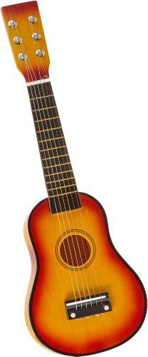Gitarre / Musikinstrument für Kinder, mit Metallsaiten und Plektrum, geeignet für Kinder ab 3 Jahre