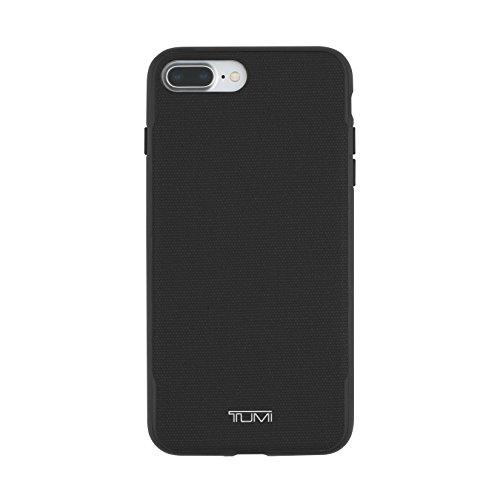 TUMI Co-Mold Schutzhülle für iPhone 8 Plus/iPhone 7 Plus, beschichtetes Leinen, Schwarz -