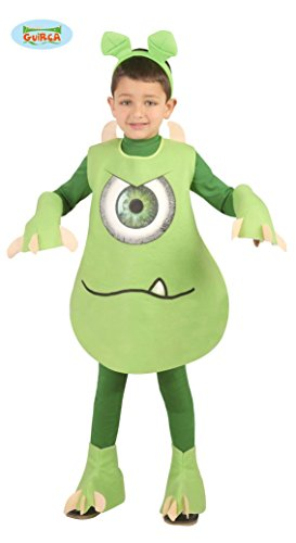 üm für Kinder, Größe:128/134 (Monster Uni Kostüme)