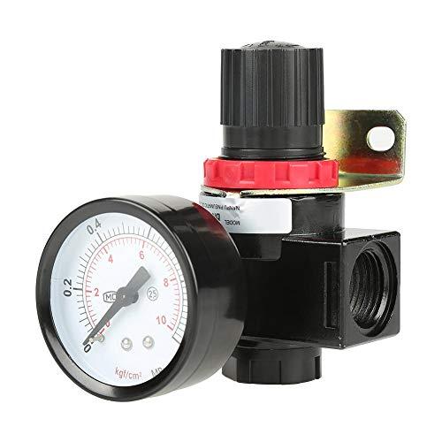 1pc Regolatore di Pressione del Compressore del Controllo Dell'aria BR4000 G1 / 2, 0.05~1MPa Regolabile Valvola del Regolatore Con porta del Manometro