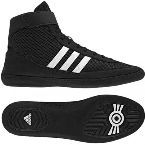 Adidas Lutter contre les bottes de vitesse de IV - noir