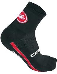 Castelli - Merino 9 Sock, color negro, talla L-XL