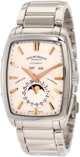 Armand Nicolet Men's 9632A-AS-M9630 TM7 Classic Automatic Stainless-Steel Watch