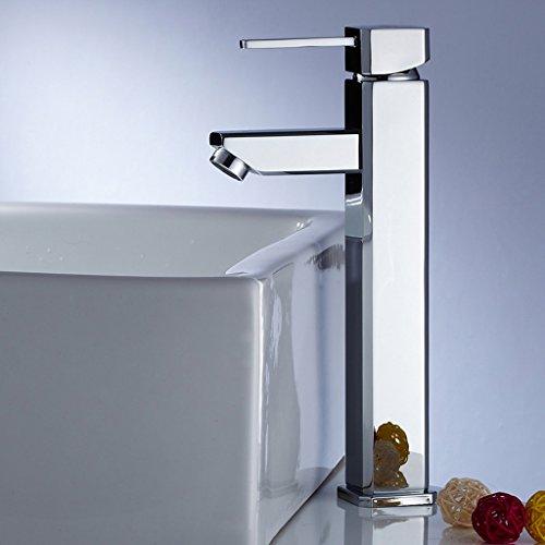 Poignée de bain Copper Basin Water Tap Simple trou chaud et robinet de bassin du bassin du froid Robinet Lavabo de toilettes