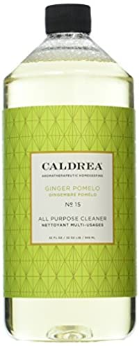 Caldrea All Purpose Cleanser, Ginger Pomelo, 32 Fluid Ounce (Pack of 2) by Caldrea