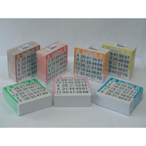 Speelgoed 360601 - Bingo Karten 500st (Spielen Bingo-spiel-karte)
