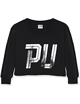 Puma - Sudadera para niños en estilo deportivo, Sportstyle Crew Sweat Tr G, infantil, SPORTSTYLE Crew Sweat TR...