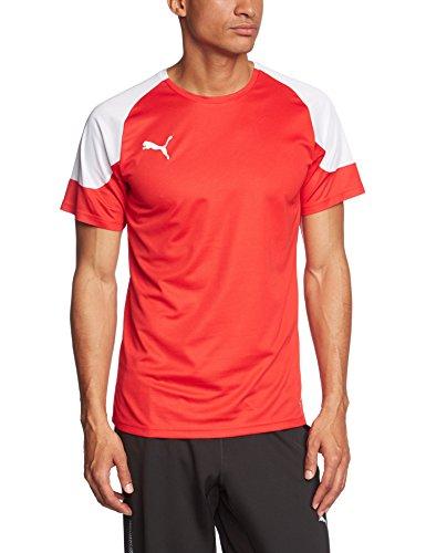 PUMA Herren T-Shirt BTS Puma Red-White