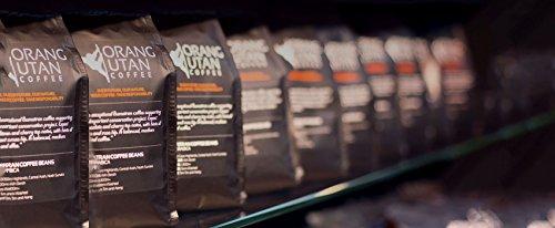 Indonesia Sumatra Orangutan Coffee Beans, 500g, Orang Utan Conservation Project, (Whole Bean, 500g)