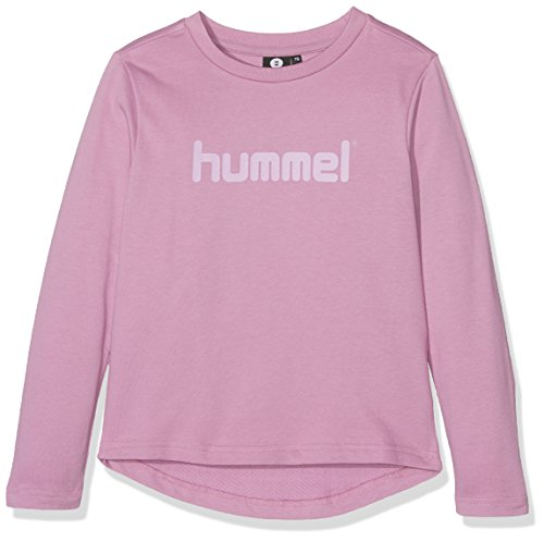 Hummel Mädchen Judy Crewneck Sweatshirt, Smoky Grape, 152 (Baseball Pink Tee)