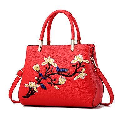 Frauen Handtasche Mode Leder Schulter Messenger Crossbody Taschen / Handtaschen Tote Dark Gray