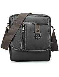 Trendy Cross Body Fine PU Leather Brown Sling Bag For Men & Women & Girls By Bagris GE01001236