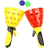 US1984 Imported Basketball Pair Children Throwing And Catching The Ball Set Parent-Child Interactive Catch Ball Toy , Best Gift ( Pack Of 2 )