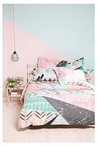 Desigual biancheria da letto mako nordic 80 x 80 135 x - Amazon biancheria letto ...