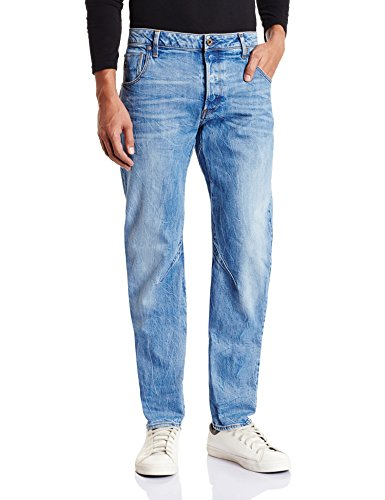 G-Star Arc 3D, Jeans Uomo, Blu (Medium Aged), 32/34(UK)