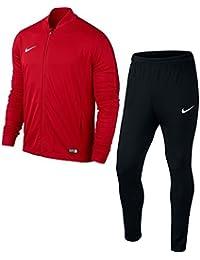 Nike Academy16 Knt Tracksuit 2-Tuta e pantaloni sportivi Uomo, Rosso (Rosso/Nero/Rosso/Bianco), Taglia M