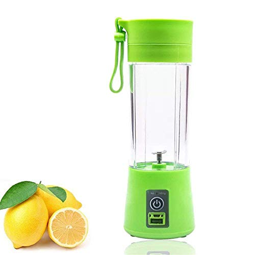 Buyerzone Rechargeable USB Mini Juicer Bottle Blender for Making Juice, Shake -...