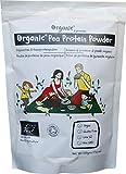 Polvere di proteine   di piselli Crudo/Pea Protein, 100% certificata ORGANICO/BIOLOGICA, pura, naturale, 500g