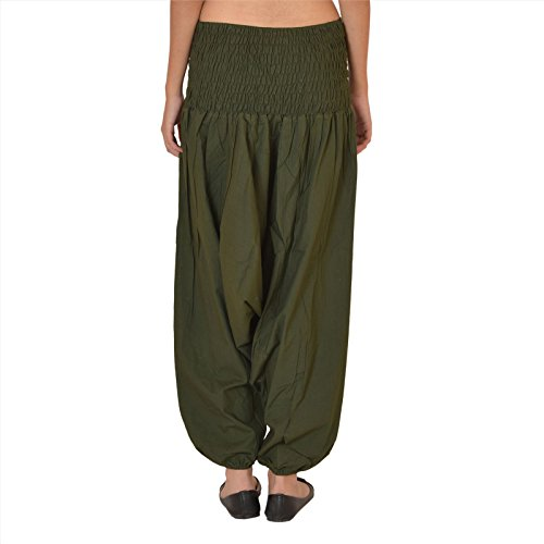 Skirts & Scarves -  Pantaloni da donna in cotone, per yoga, colore viola Deep Gray