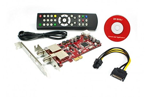 DVBSky S952 V3 mit 2x DVB-S2 Tuner (Dual Twin Tuner), low profile PCIe Karte Low-profile-tv-tuner