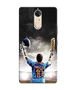 Sketchfab God of Cricket Latest Design High Quality Printed Designer Back Case Cover For Lenovo K5 Note