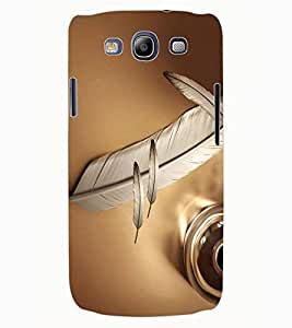ColourCraft Lovely Feather Design Back Case Cover for SAMSUNG GALAXY S3 NEO I9300I