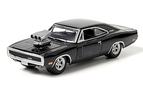 dodge-charger-tuning-negro-doms-charger-modelo-de-auto-modello-completo-greenlight-164