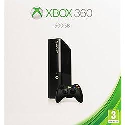 Microsoft Xbox 360 E 500GB 500GB Wifi Negro - videoconsolas (Xbox 360, 512 MB, DDR3, IBM PowerPC, Unidad de disco duro, 500 GB)
