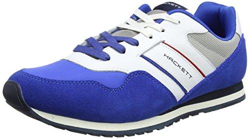 Hackett Pro Team Runner, Zapatillas para Hombre, Azul (Bright Blue), 42 EU