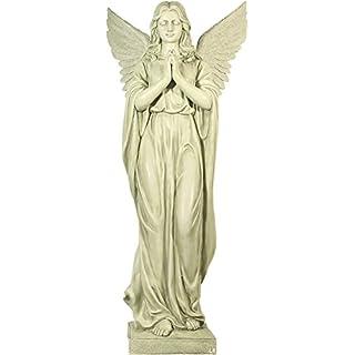 Huge angel! Indoor and Outdoor! Angel stands on pedestal! Figure! Garden figure!