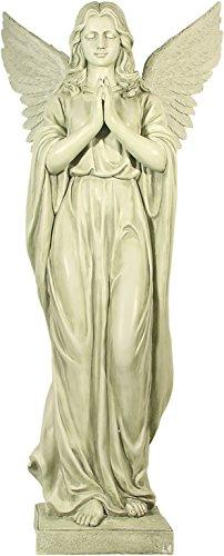 oor Engel betend auf Sockel 92 cm Angel Figur Gartenfigur ()