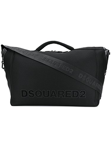 Dsquared2 Homme W17df409013922124 Noir Polyester Sac À Main Dsquared2