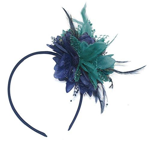 nt Fascinator mit Haarband für Ascot Hochzeiten ()
