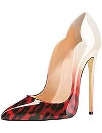 c5fb03d8 LIANGXIE Tacones Altos Mujer Mujeres Purps Sexy Zapatos Mujer Tacon Delgado Alto  TALÓN Sexy GRADIENTE Mujer