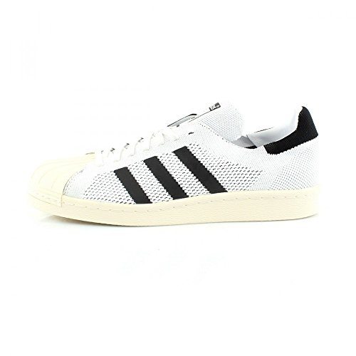 adidas Superstar 80s Primek, Chaussures Homme white/ core black / gold met.