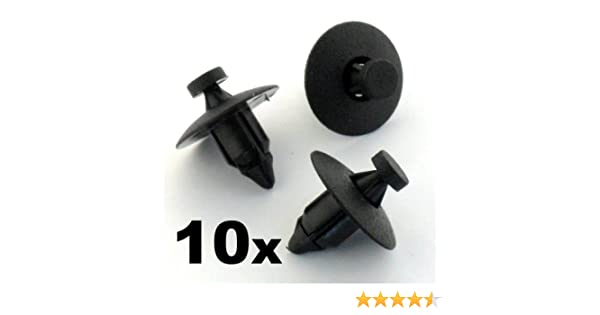 Side Skirts - FREE FIRST CLASS UK POSTAGE! 50x Mercedes Benz Plastic Rivets- Bumper Clips Arch Linings 23099000929C75 // 201-990-02-92 Panels