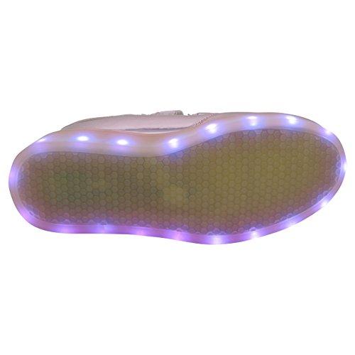 30 Porta Levou Tênis Rosa Para Carregar Brilhantes Crianças Velcro duplo 37 Gr As Com Usb Para UqtPq