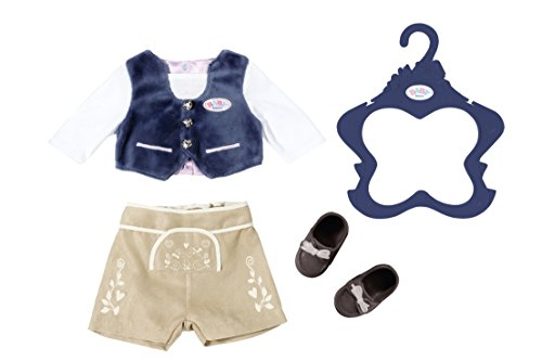 Zapf Creation 824511 Baby Born Trachten-Outfit Junge