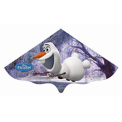 Kinderdrache Frozen Olaf 115x63cm Drache Flugdrache Spieldrache bunt PE-Folie