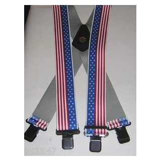 FUM Tools Mens Braces American Stars Stripes Motorbike Work Fishing Rock 2