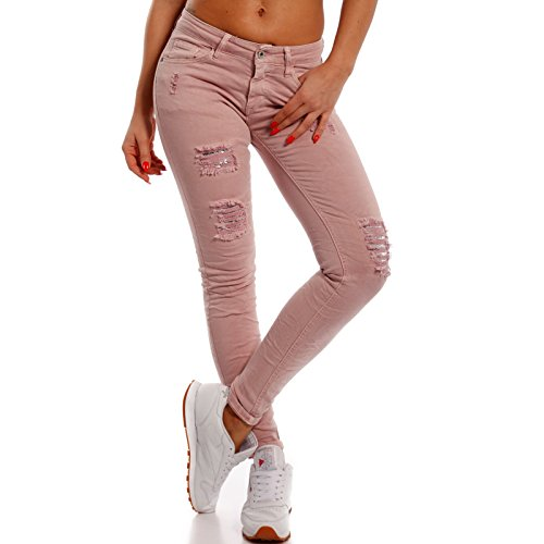 Young-Fashion -  Jeans  - skinny - Basic - Donna Rosa