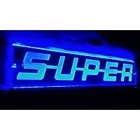 12V LED SCANIA 500mm Neon Sign-Logo-Lichtplatte  Blue New Design