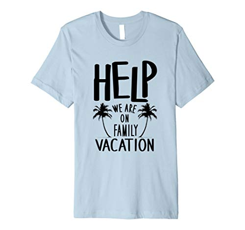 61e91b8aa28 Vacation shirts - help on family the best Amazon price in SaveMoney.es