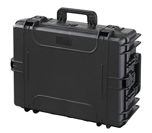 Max MAX540H190STR IP67, wasserdicht, strapazierfähig, wasser- und Materialaufnahmen mit Griff, Hartschale aus Kunststoff, Schutzhülle, Transit Pick and Pluck Schaumstoff-Koffer Werkzeugkoffer
